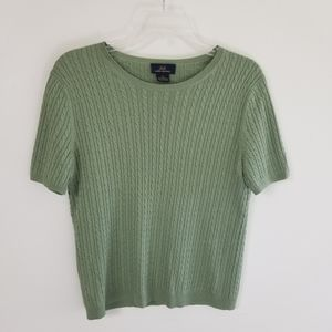 Sweet Brooks Bros 346 Sage Green Sweater